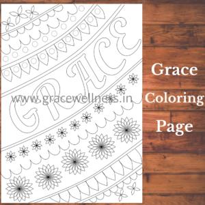 grace coloring pages pdf